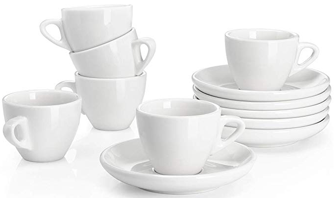 sweese cups with saucers