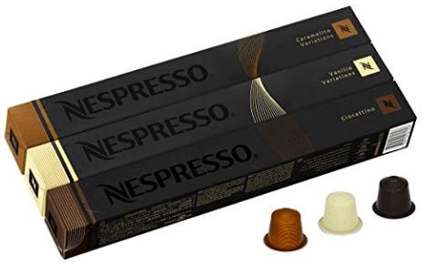 3 nespresso espresso