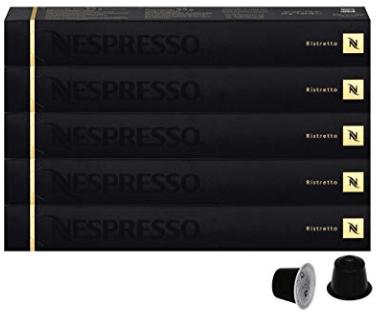 5 nespresso espresso ristretto